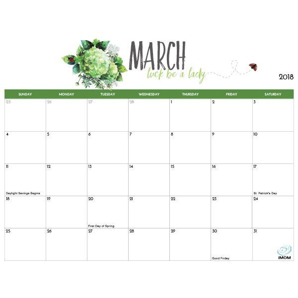 2020 And 2021 Printable Calendars 9 Free Printable Calendar Designs Imom Calendar Printables Free Printable Calendar 2018 Printable Calendar