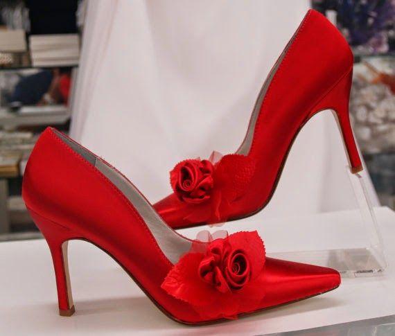 increíbles zapatos de novias | color pasión rojos | zapatos