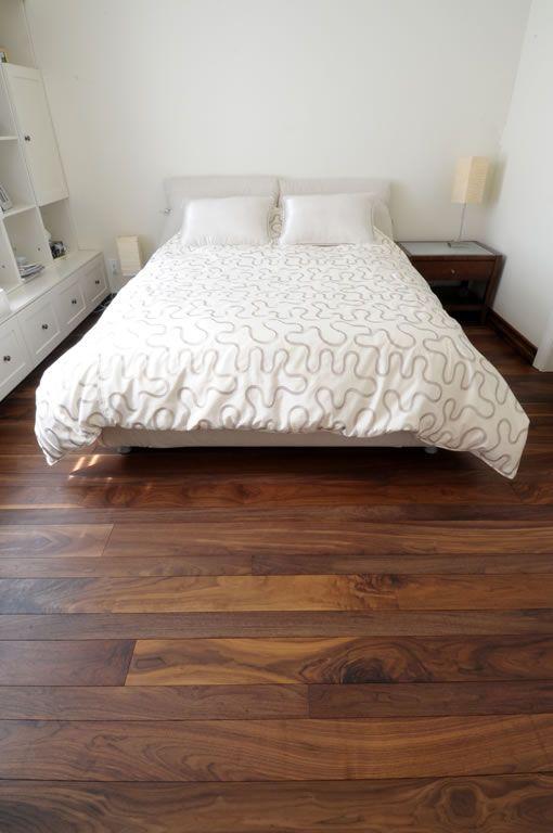 Noyer Noir Huile Planchers Dava Bedroom Bed Design Bedroom Wooden Floor Living Room Designs