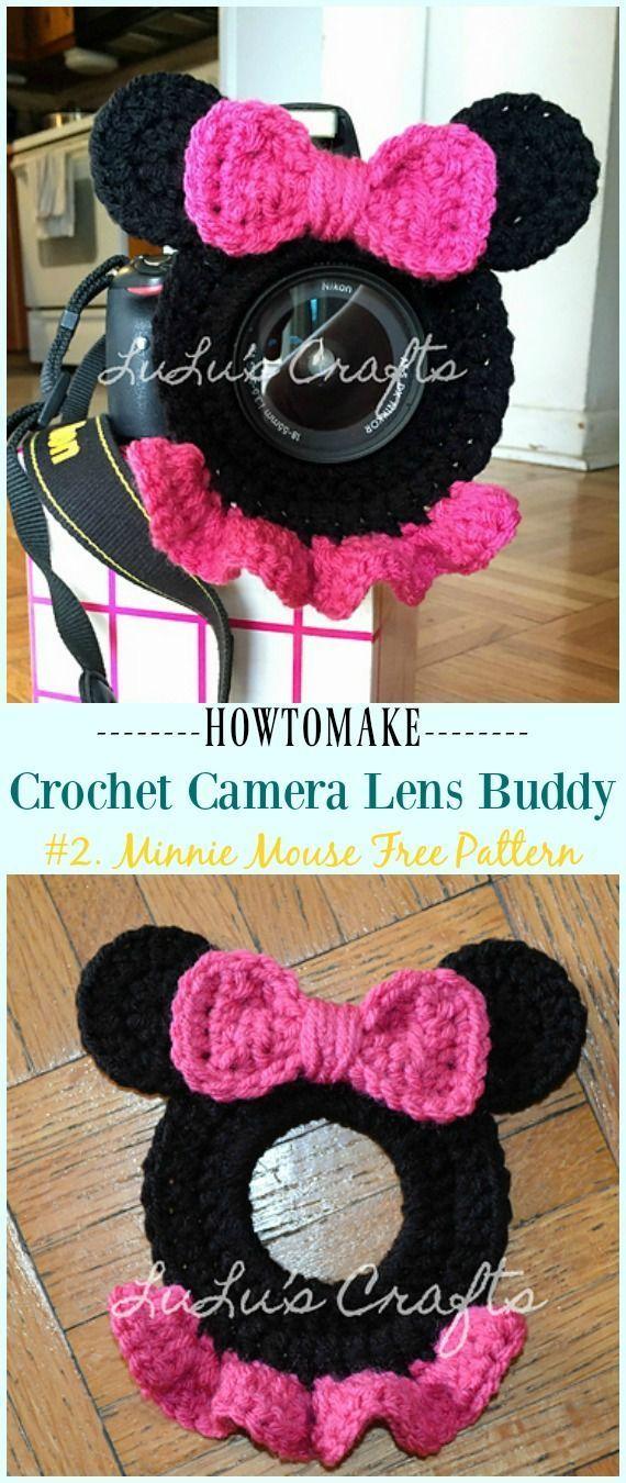 Crochet Camera Lens Buddy & Cozy Patterns #crochetcamera Crochet Minnie Mouse Camera Lens Buddy Free Pattern - #Crochet; Camera #Lens; Buddy Cozy Free Patterns #crochetcamera Crochet Camera Lens Buddy & Cozy Patterns #crochetcamera Crochet Minnie Mouse Camera Lens Buddy Free Pattern - #Crochet; Camera #Lens; Buddy Cozy Free Patterns #crochetcamera