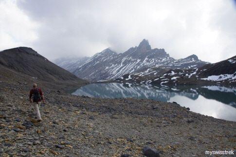 Col de la Forcla - Wandern in den Alpen /  hiking in the alps - a real adventure