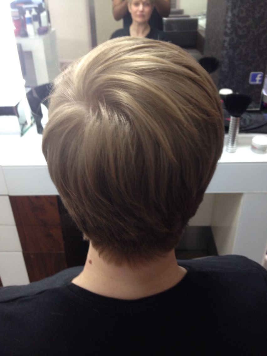 Mid Length Hairstlyes Behind Ears Wavy Haircut