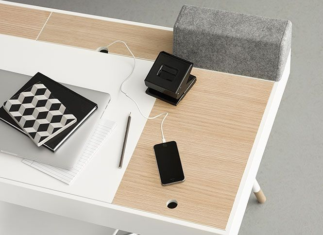 An amazing desk manager - the Cupertino desk | Rene Hougaard for ...