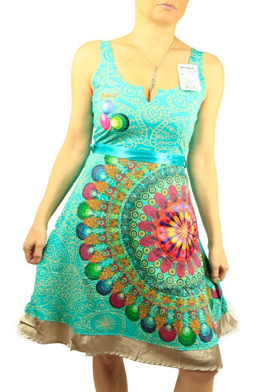 Buy Online Desigual Dress Galactic  c30f30e7d9