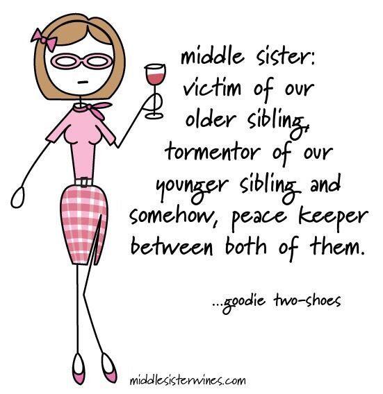Middle child #middlechildhumor Middle child #middlechildhumor