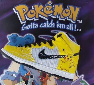new concept c16b8 40a4d Pokemon Pikachu Yellow Lightning Custom Nike Dunks