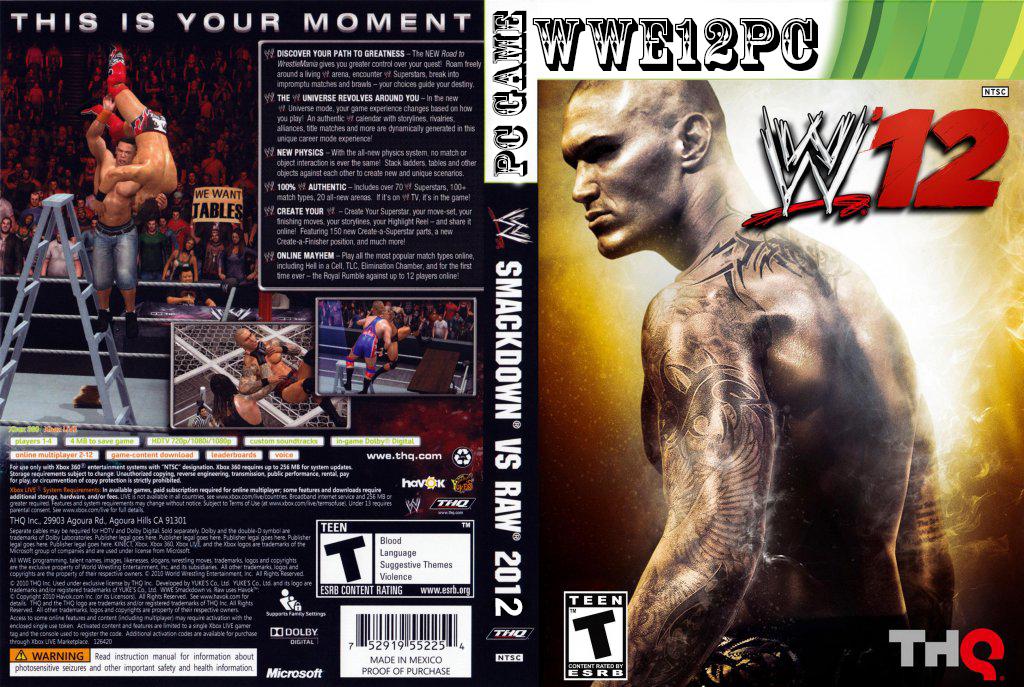 WWE 12 PC Game Download Free Game download free