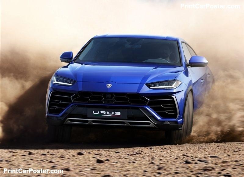 Lamborghini Urus 2019 Poster Mit Bildern Superauto