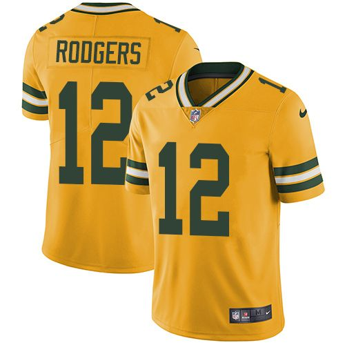 Http Www Jersey Kingdom Ru Nike Men S Green Bay Packers 12 Aaron Rodgers Yellow Stitched Nfl Limited Rush Jerse Green Bay Packers Jerseys Nfl Jerseys Jersey