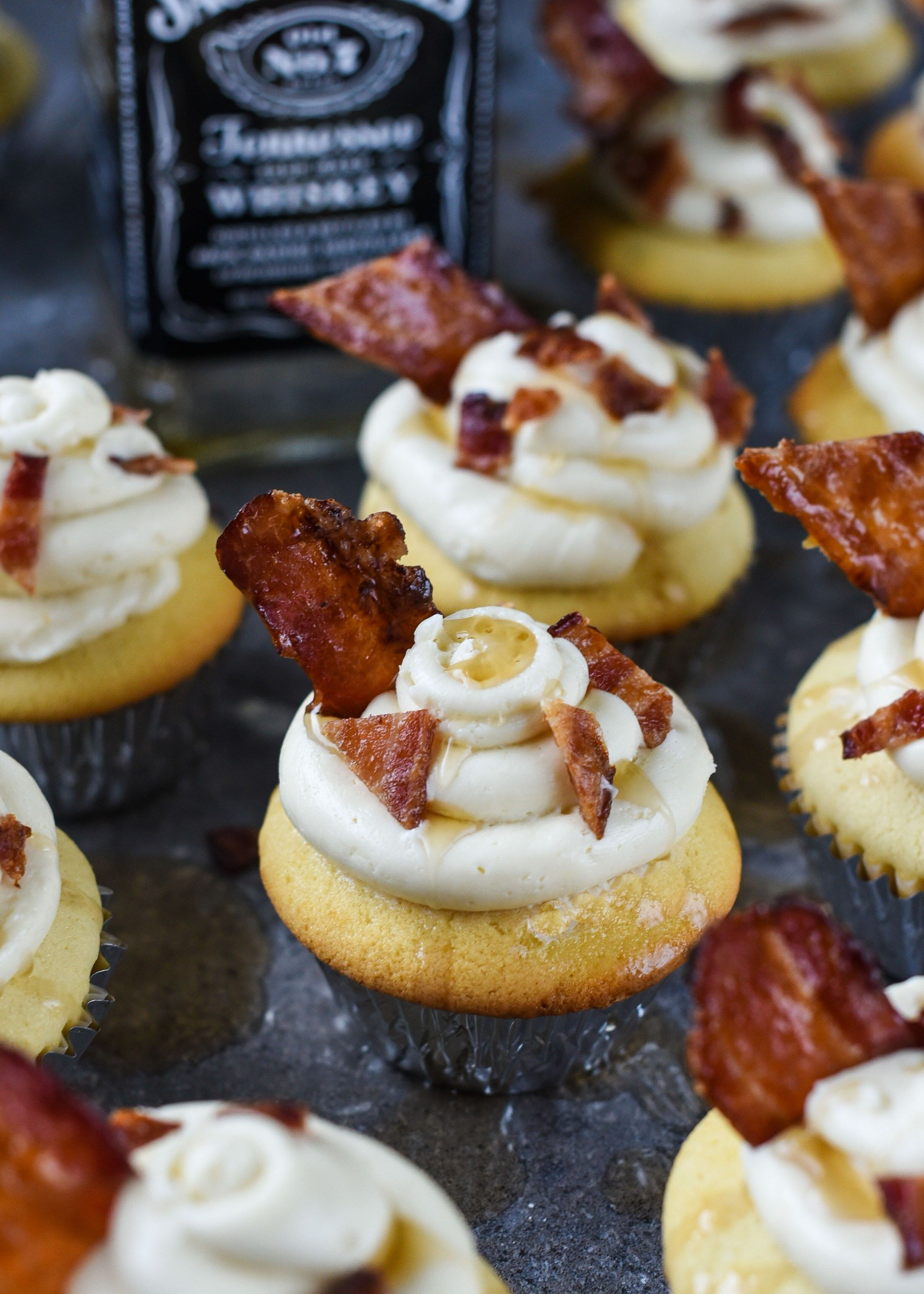 Photo of Maple Bacon Whiskey Cupcakes