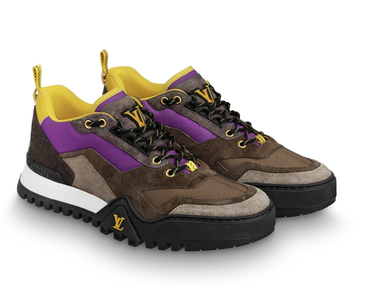 LV Hiking Sneaker in 2020 | Hiking sneakers, Sneakers, Louis