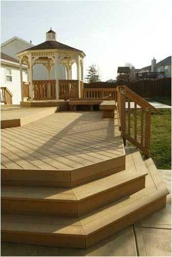 deck corner stairs design   Google Search   Deck steps ...