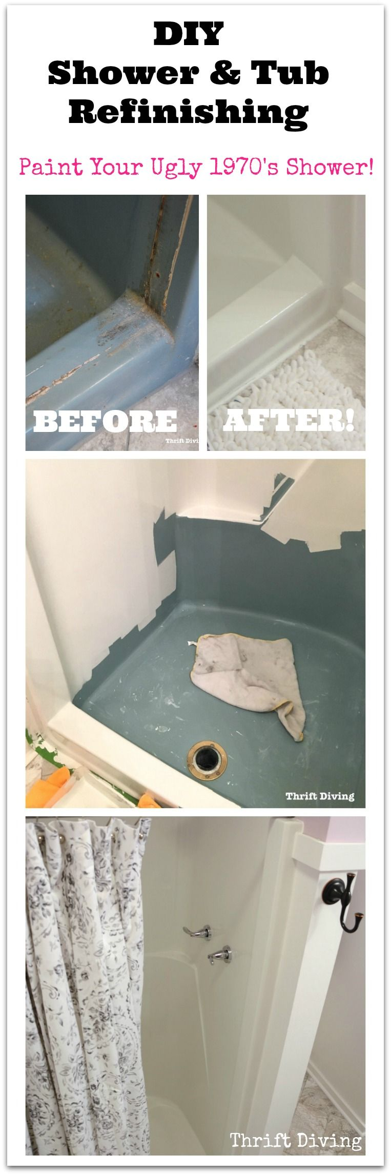 Refinish Complete Bath, Shower, other Fiberglass and Porcelain ...
