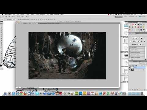 cut and paste in Photoshop - YouTube