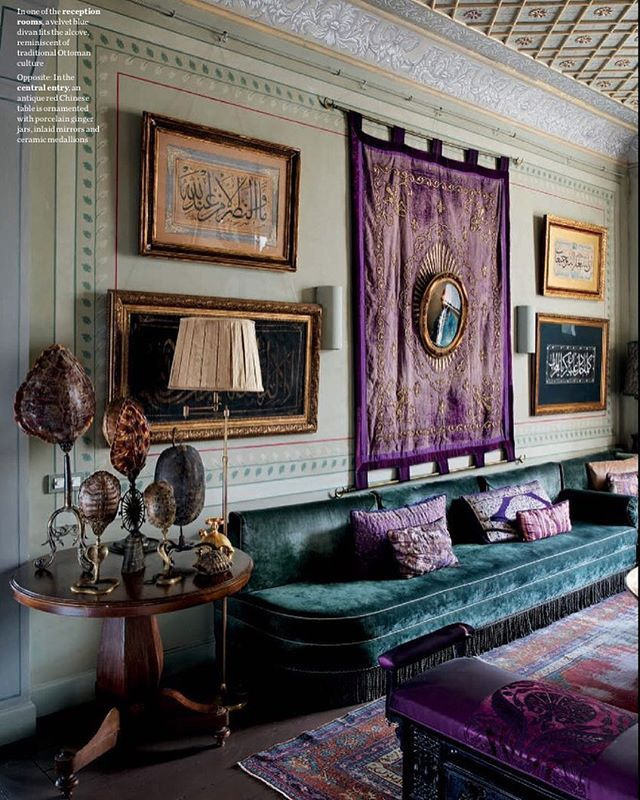 Find Interior Decorator: Another Image From The Home Of Istanbul-born Interior