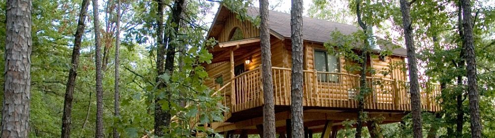 Tree House In Eureka Springs Arkansas My Daughter And Her New Husband Stayed In One Of These On Her Ho Treehouse Cottages Treehouse Vacations Eureka Springs