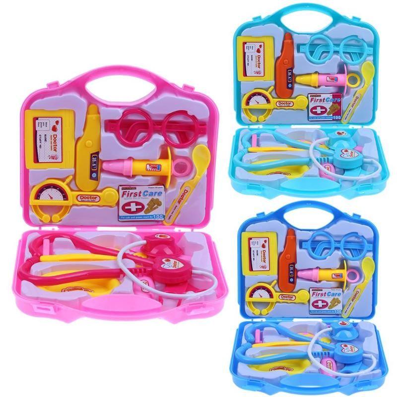 Doctors Set Medical Pretend Role Toys Doctor Nurse Kit Playset Gift for Kid