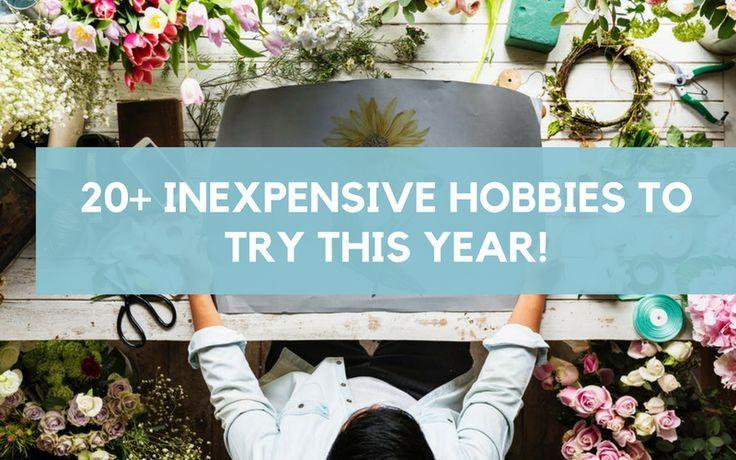 Photo of Hobbys müssen kein Luxus in Ihrem Lebensstil sein. Diese Liste hat über 20 sup …