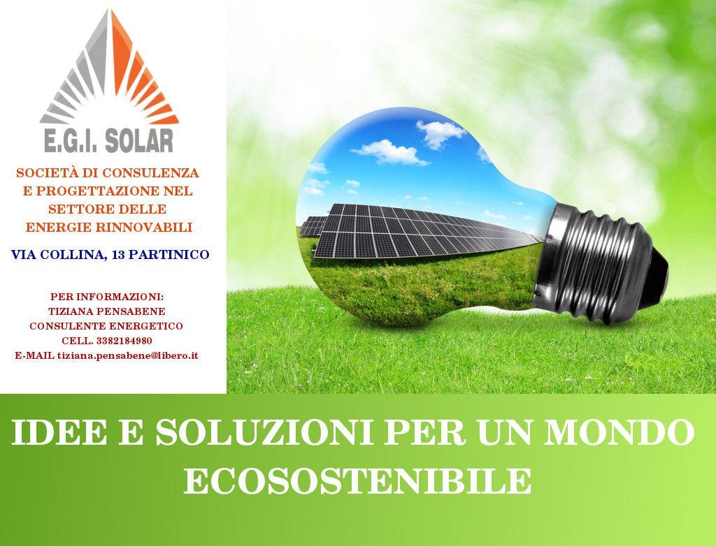 Egi Solar E Un Azienda Attiva Nel Settore Delle Energia
