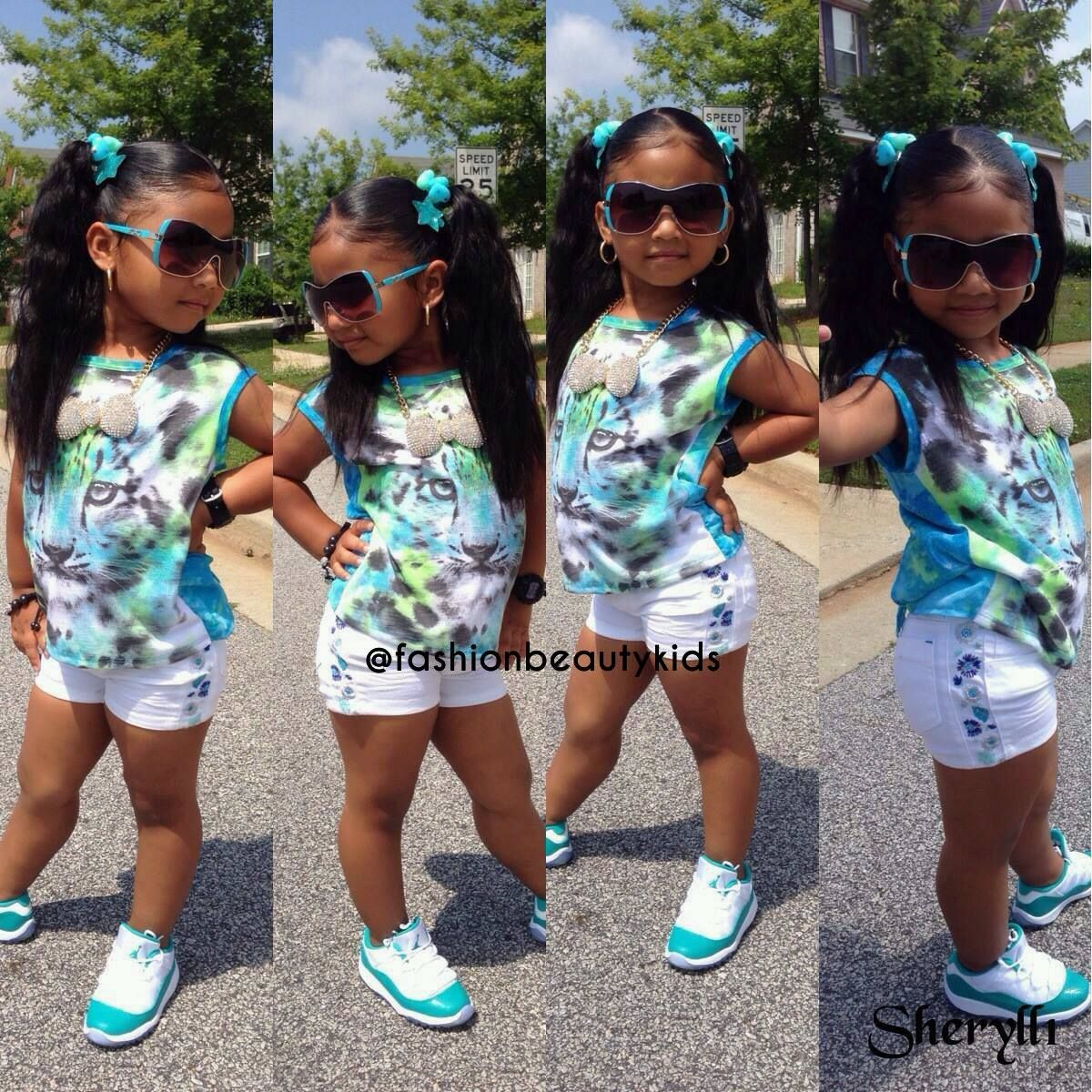 Outfit Black Girl Killing It: Image By Jade Green On Adorable Kidz With Swagg :-)