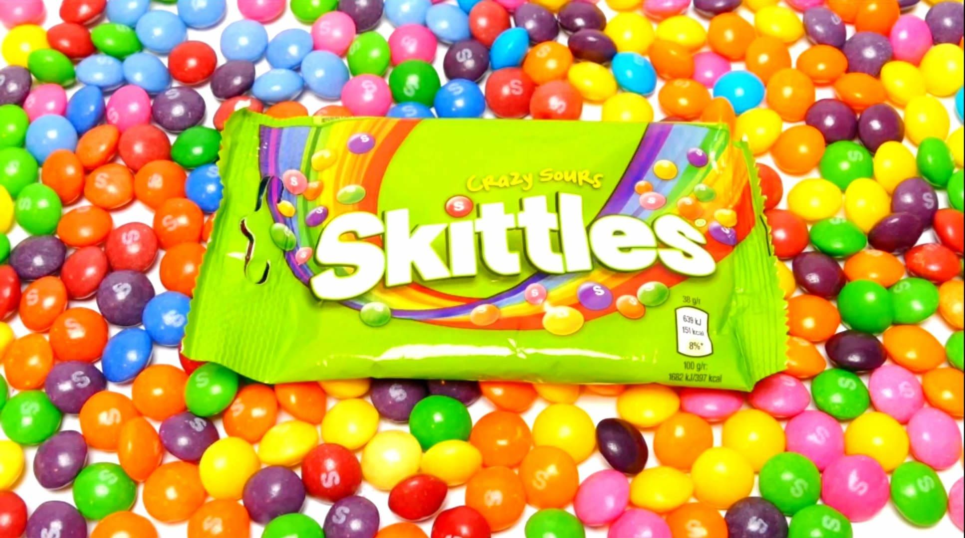 6 Skittles Flavors - Fruits, Crazy Sour, Confused, Tropical