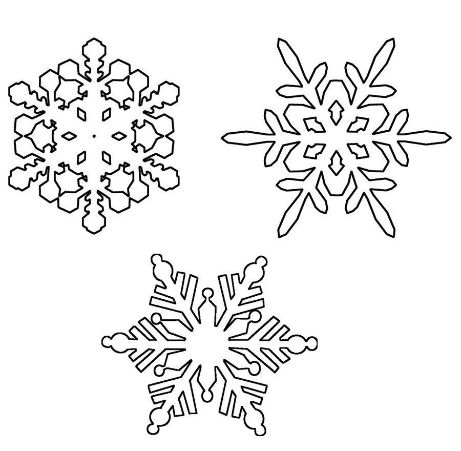 ausmalbilder malvorlagen schneeflocke kostenlos zum ausdrucken