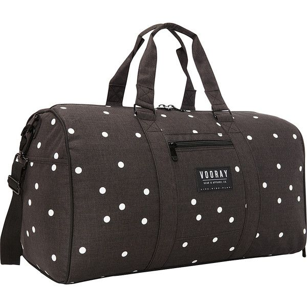 0a47f6dcea0a Vooray Trepic 43L Weekender Duffel Bag Carry-On Luggage (150 BRL) ❤ liked  on Polyvore featuring bags