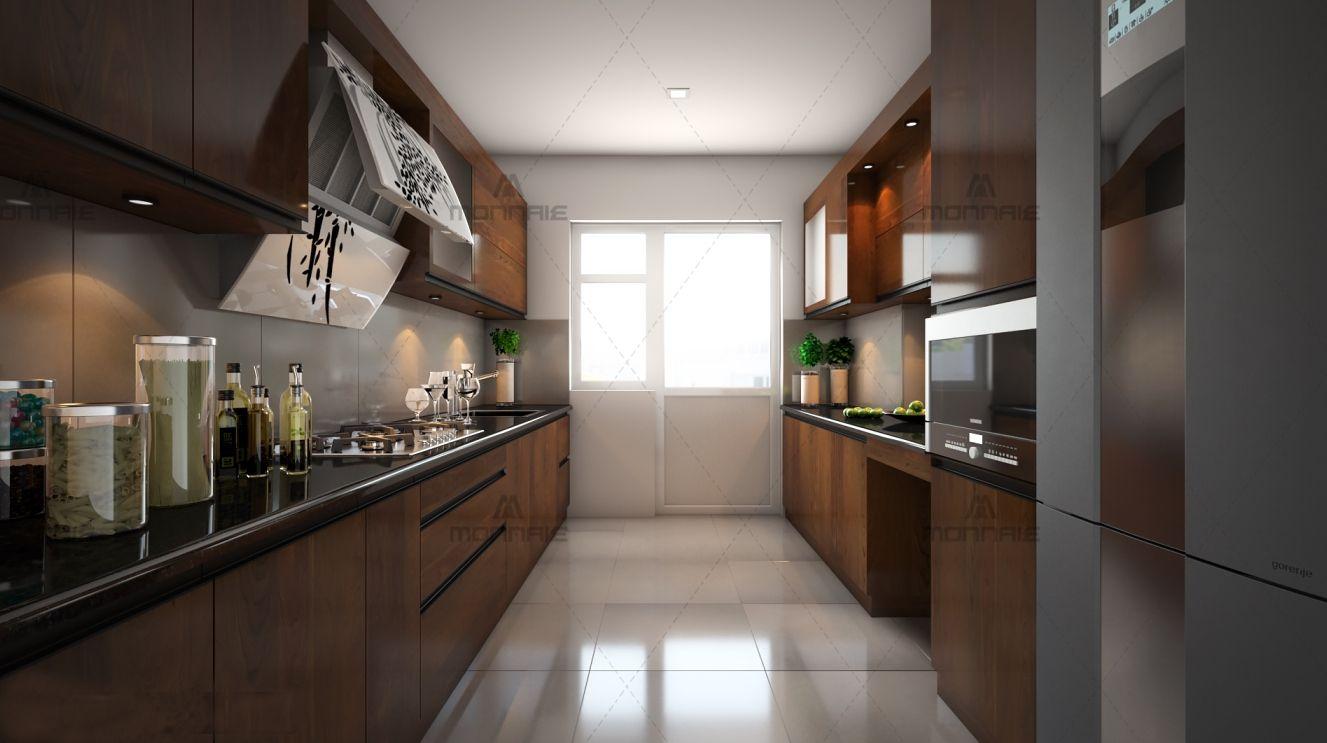 parallel modular kitchen visit us www monnaie in or www monnaieinteriors com on kitchen interior parallel id=34727