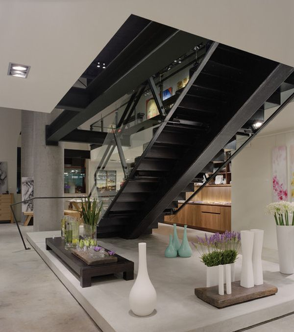 Zen Style Interior Design: 10 Steel Staircase Designs: Sleek, Durable And Strong