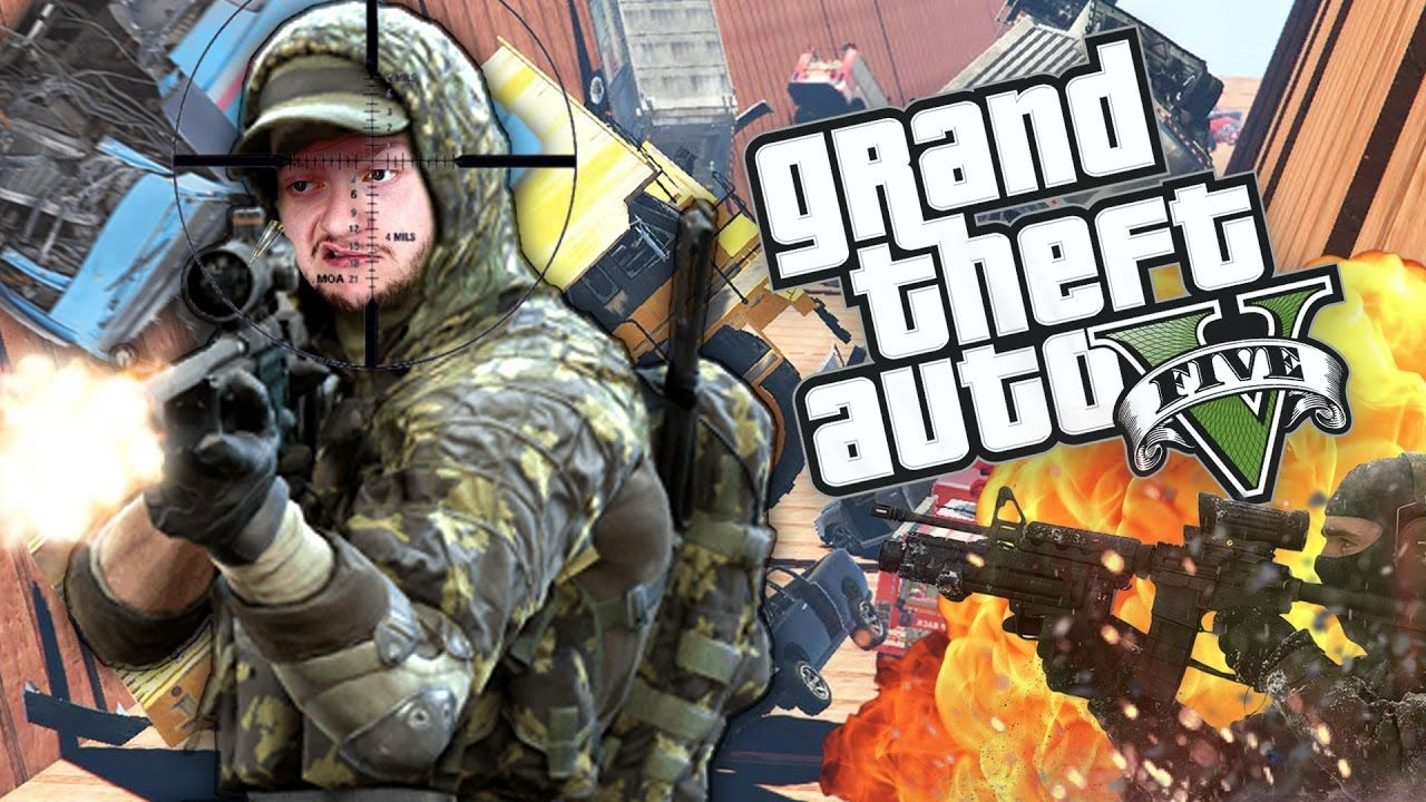 GIANT CAR AVALANCHE! | GTA 5 Funny Moments (Custom Game)