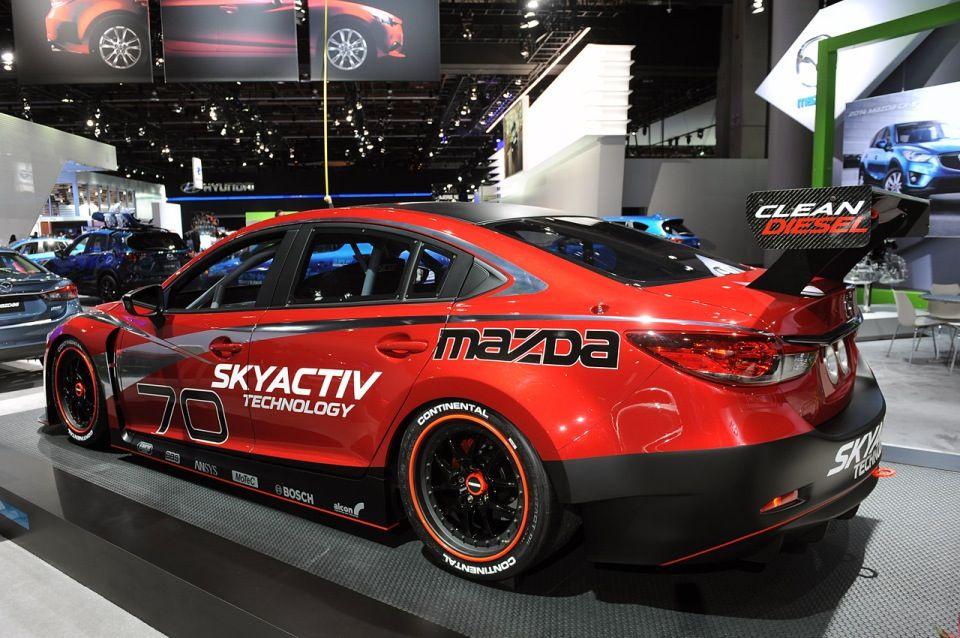 Mazda 6 Skyactiv D Racecar. Set To Race In American Le Mans Series (ALMS)  In 2013.