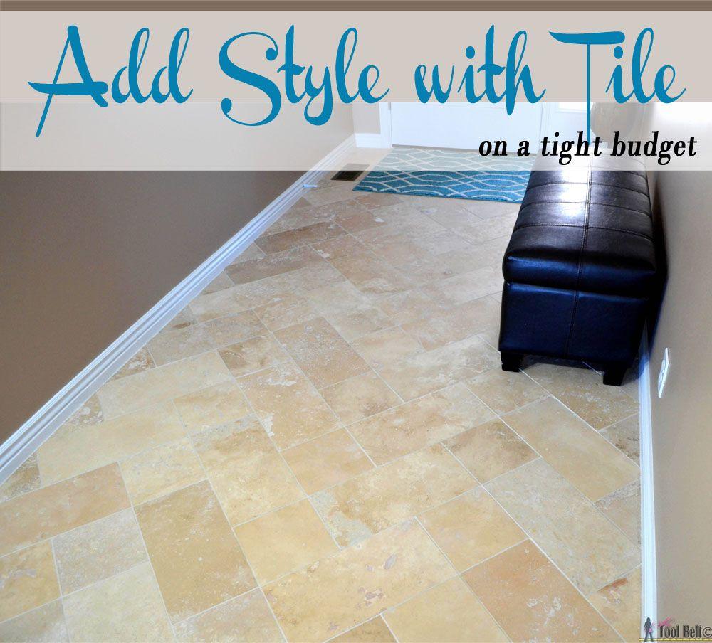 Travertine tile on a budget travertine tile travertine and tile