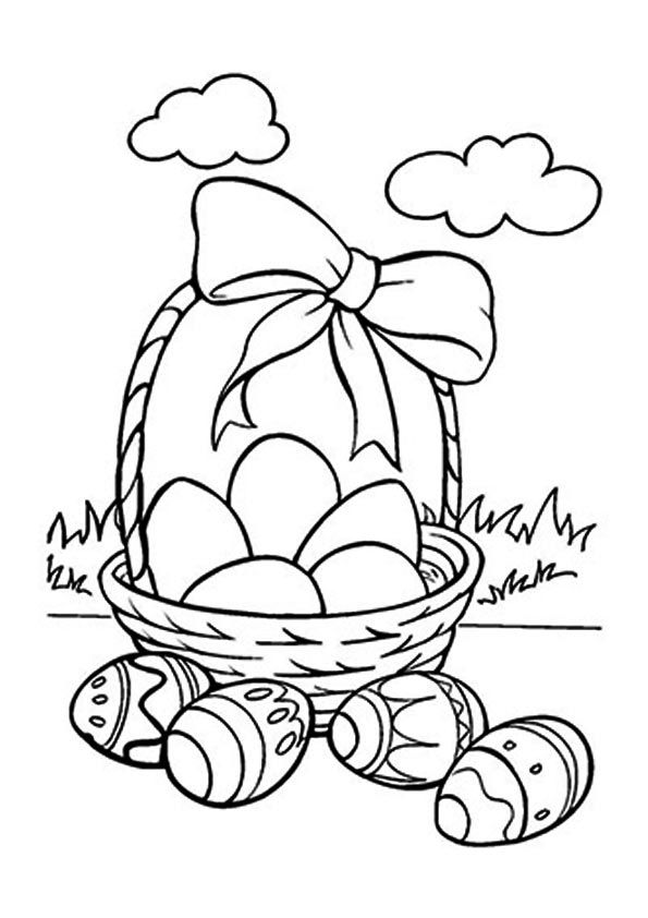 Print Coloring Image Easter Egg Pages Rhpinterest: Momjunction Coloring Pages Easter At Baymontmadison.com