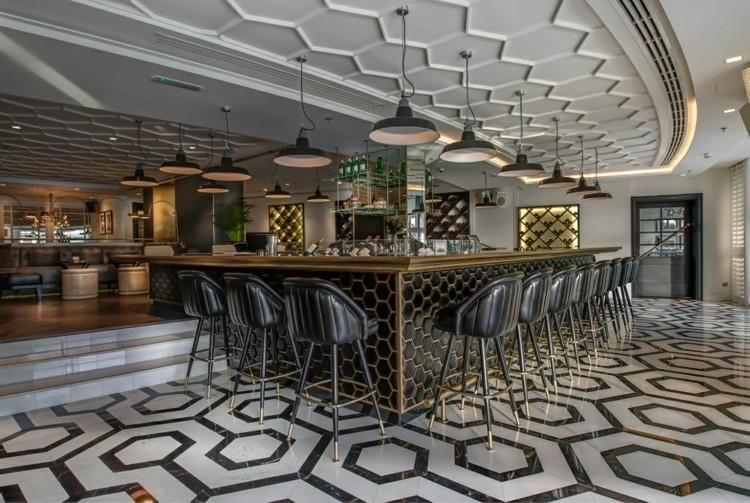 Restaurants mit Dachgestaltungen, die Aussehen stehlen Dekoration