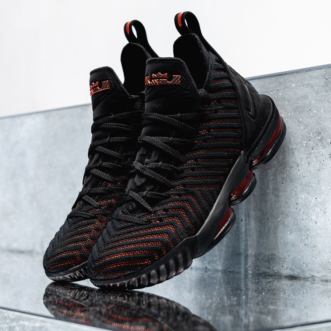 c8315d63b8 A detailed look at LeBron James s all-new Nike LeBron 16 in a