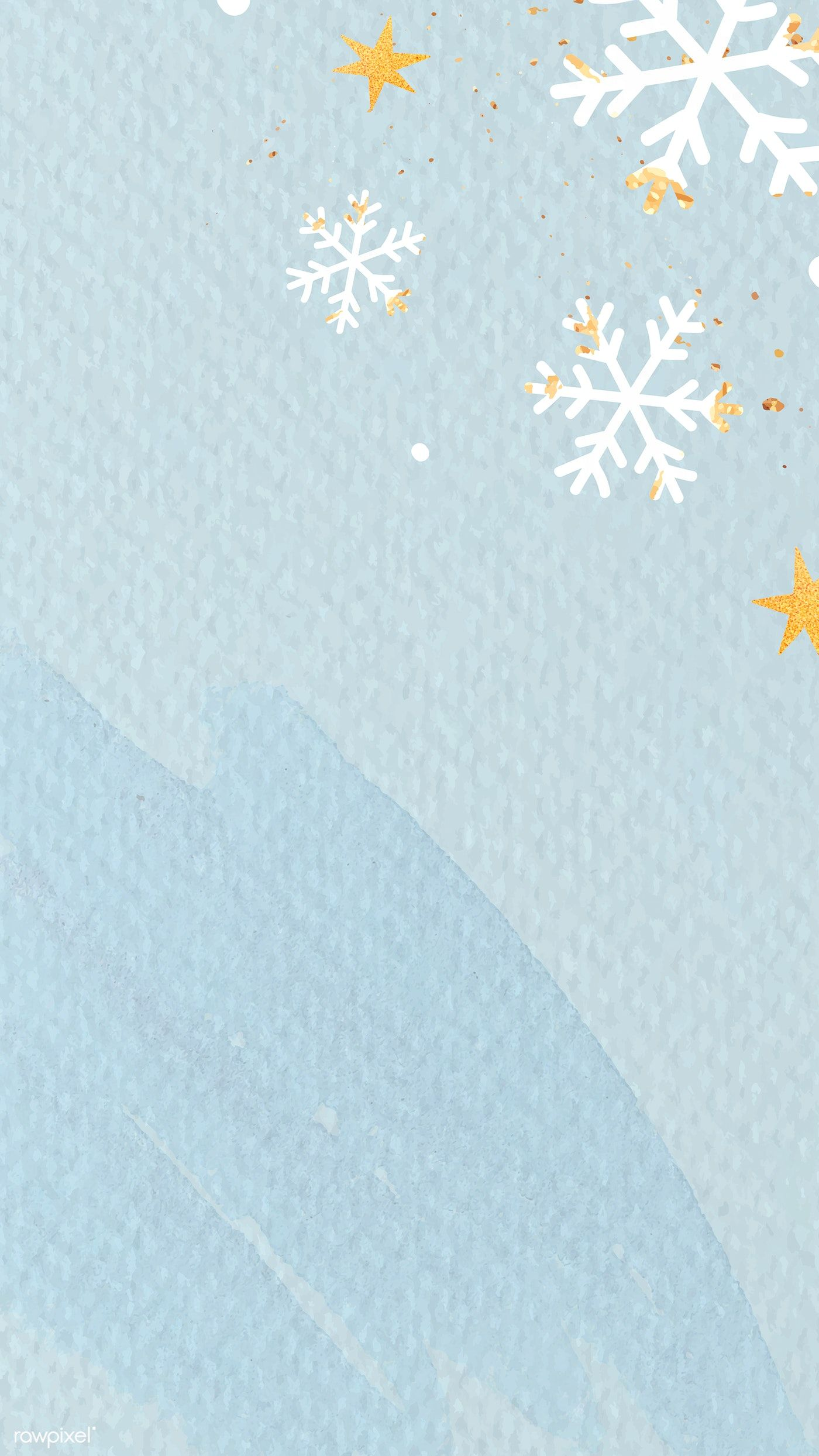 Download Premium Vector Of White Snowflakes On Light Blue Background Light Blue Background Blue Backgrounds Cute Pastel Wallpaper