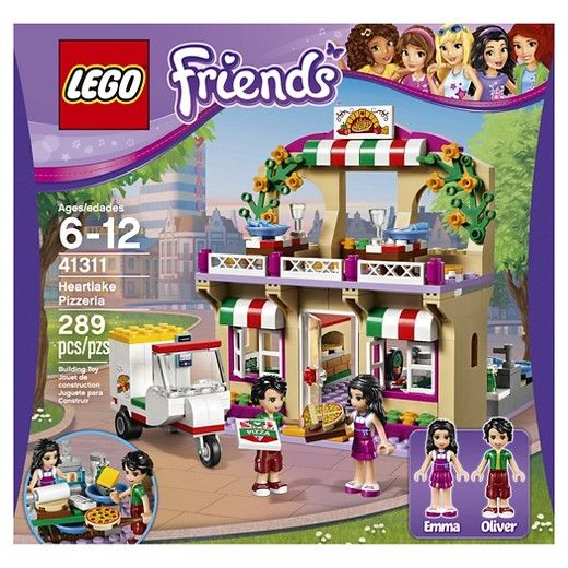 Lego Friends Heartlake Pizzeria 41311 Kaylee Lego Playsets