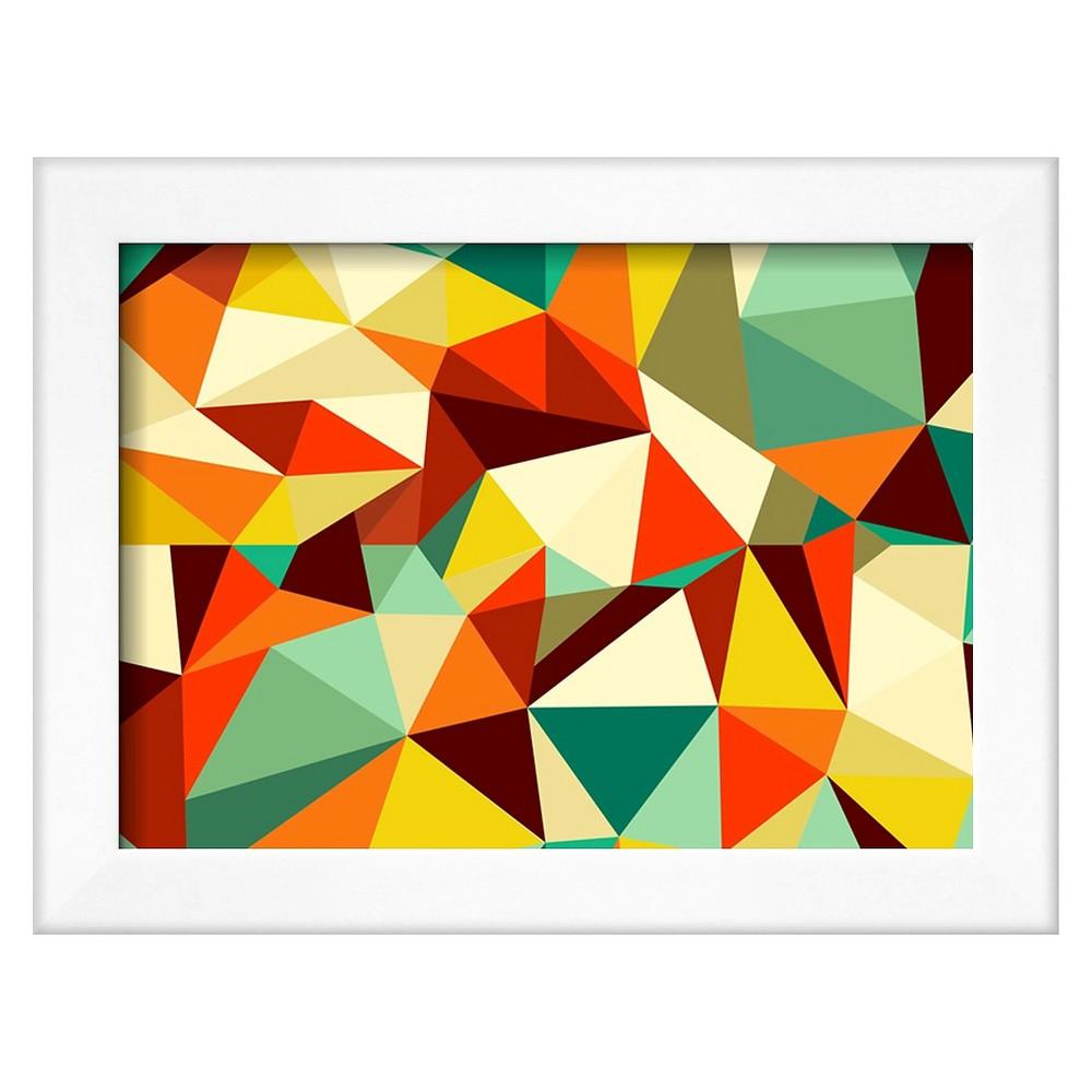 Art.com Trendy Vintage Geometric Seamless Pattern - Framed Art Print ...
