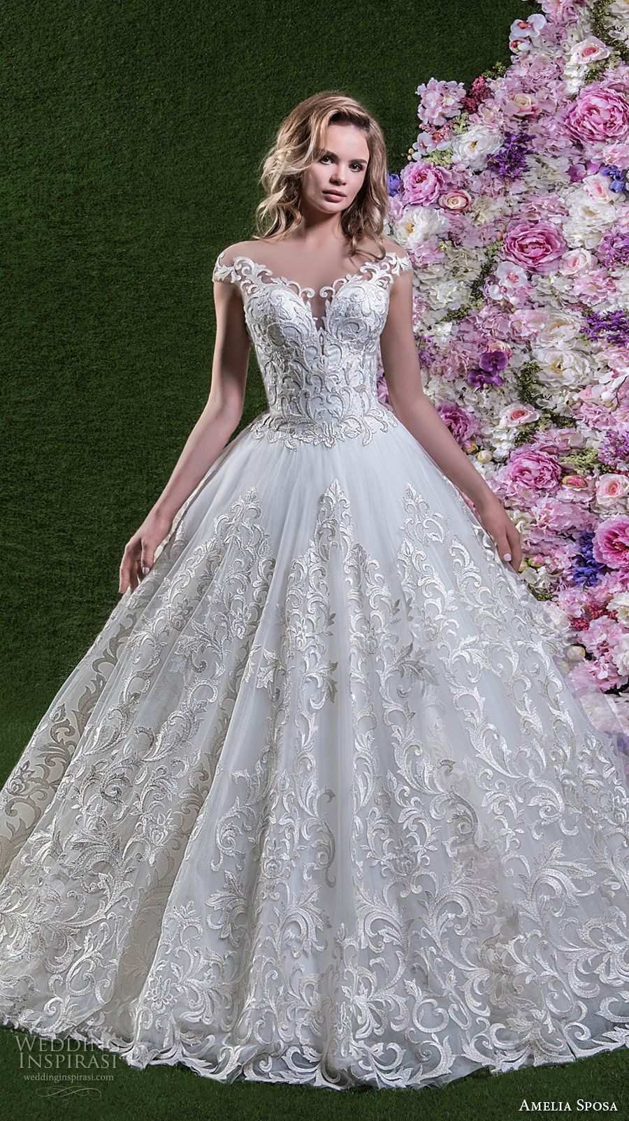 Amelia sposa wedding dresses amelia sposa chapel train and