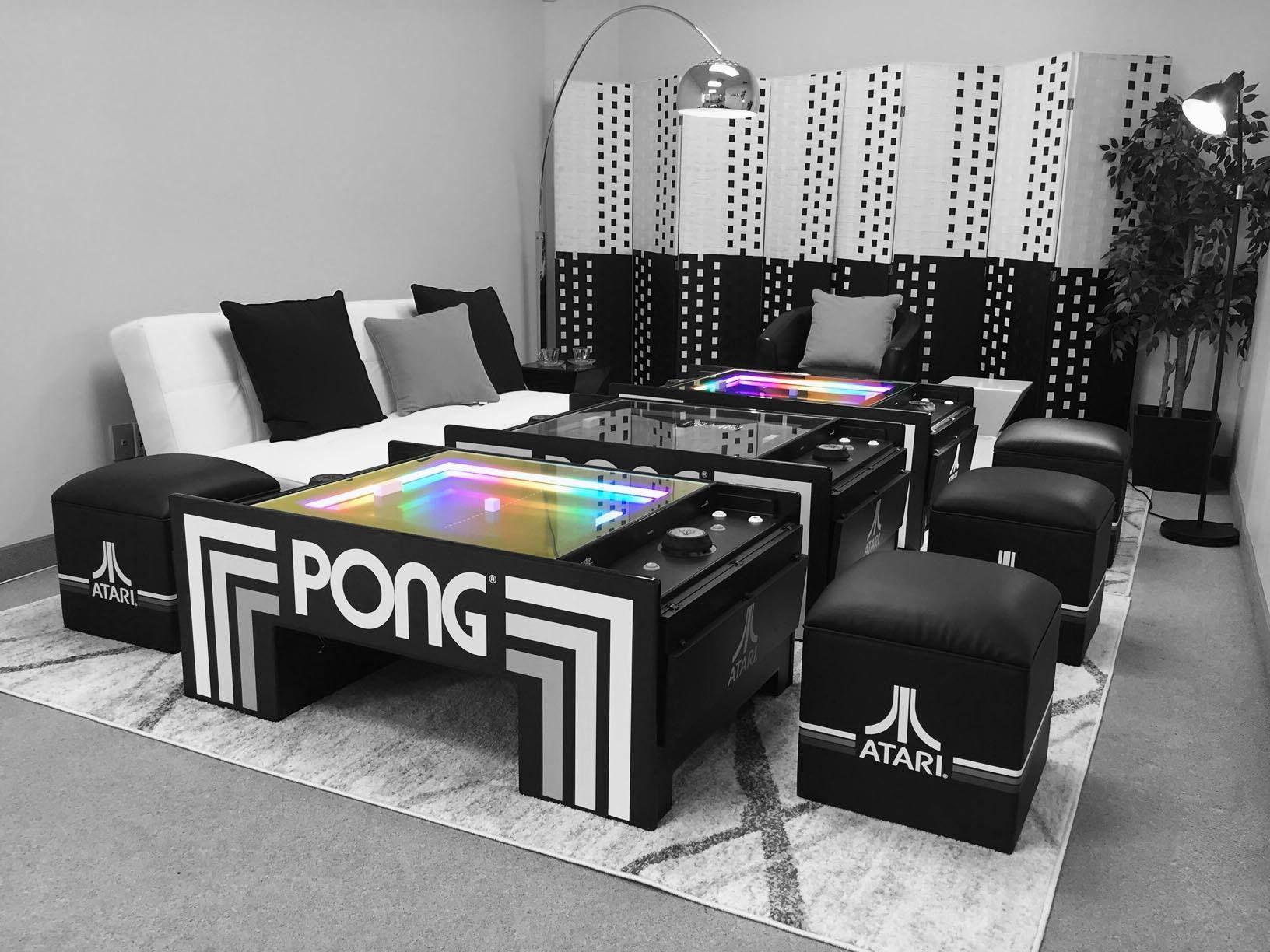 Atari Pong Coffee Table Coffee Table Table Home Entertainment