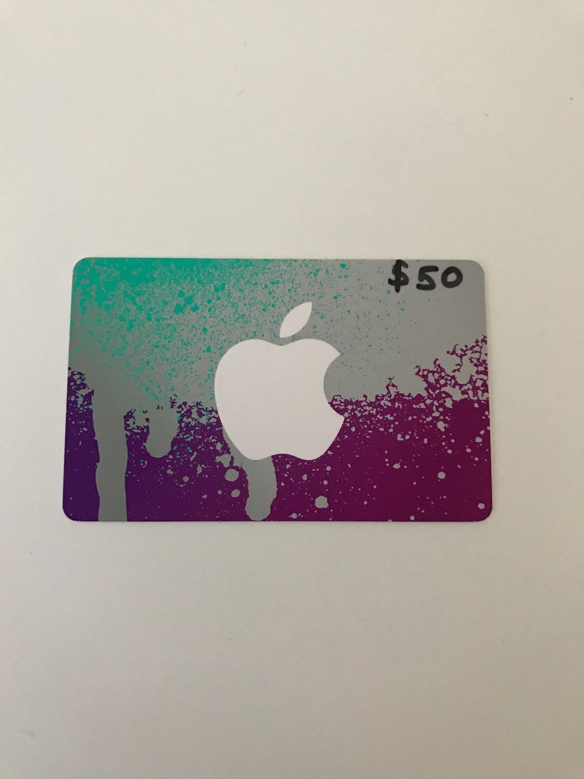 50 Dollar Itunes Apple Gift Card Will Mail It 50 Giftcard Http