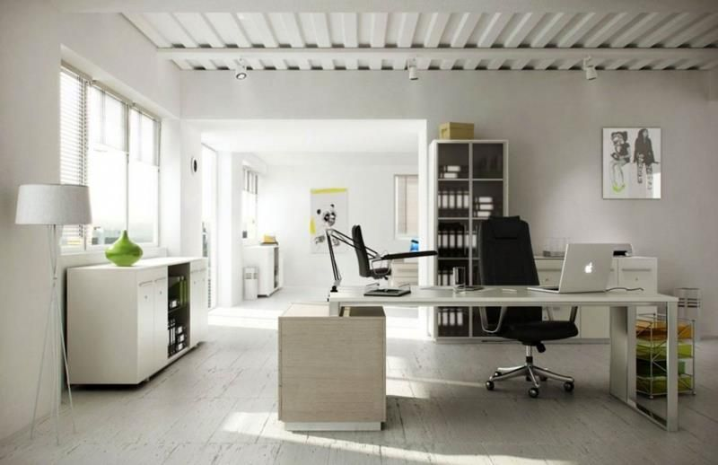 24 luxury and modern home office designs home epiphany the layout of this white