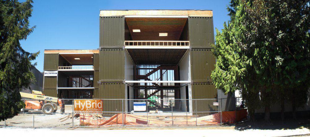 Construcción en contenedores para vivienda comunitaria C3600 LOFT ...