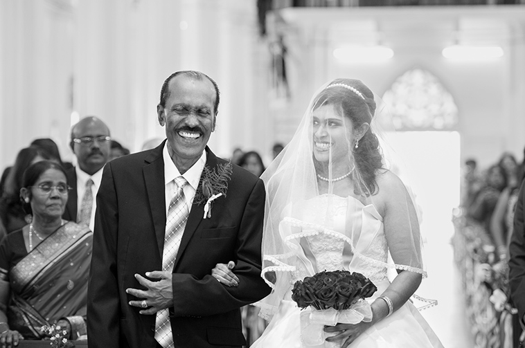 The day wouldn't be the same without Pops. | 34 Real-Life Wedding Moments That Prove Dads Are The Best