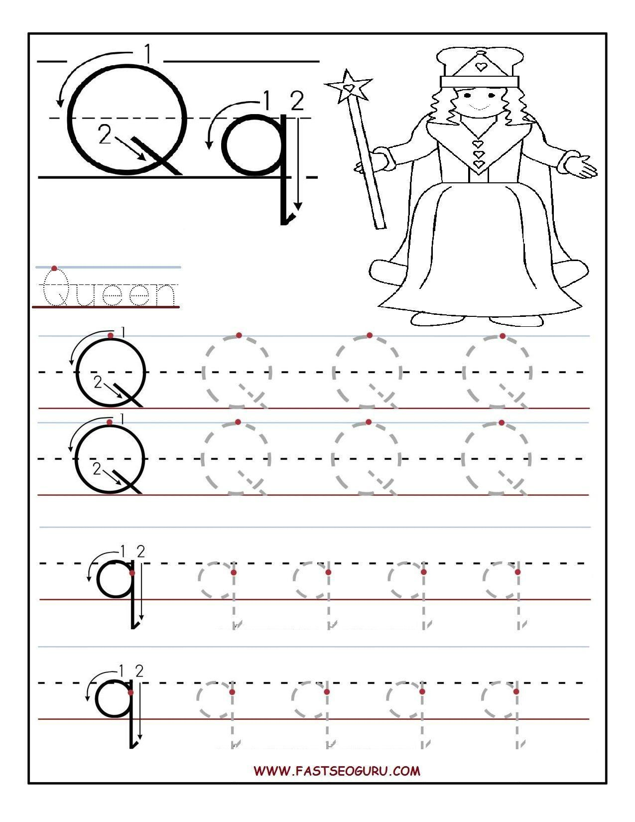 Printable Letter A Worksheets In