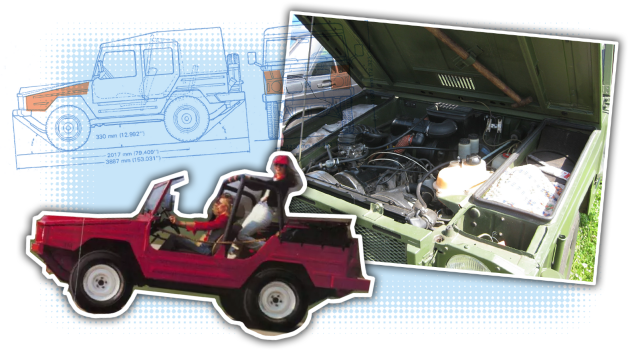 Your Inspirational Trunk of the Day Volkswagen Iltis