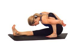 3 Yoga Poses for the Worst Cramps (PMSing) of Your Life