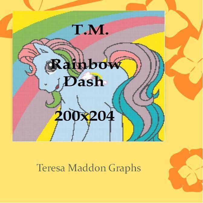 Looking for your next project? You're going to love Classic Rainbow Dash 200x204 by designer Teresa Maddon.