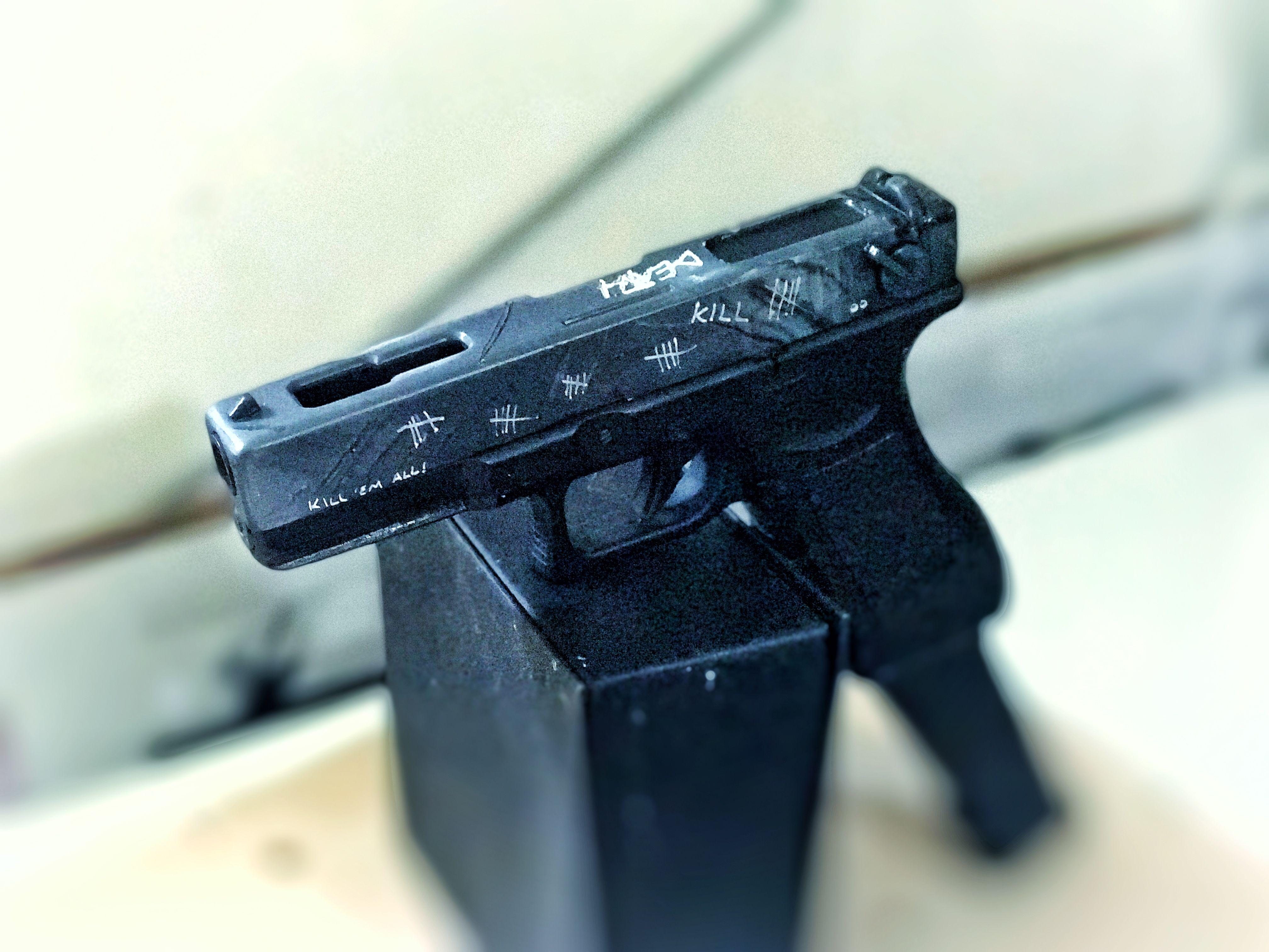 Raw Glock custom