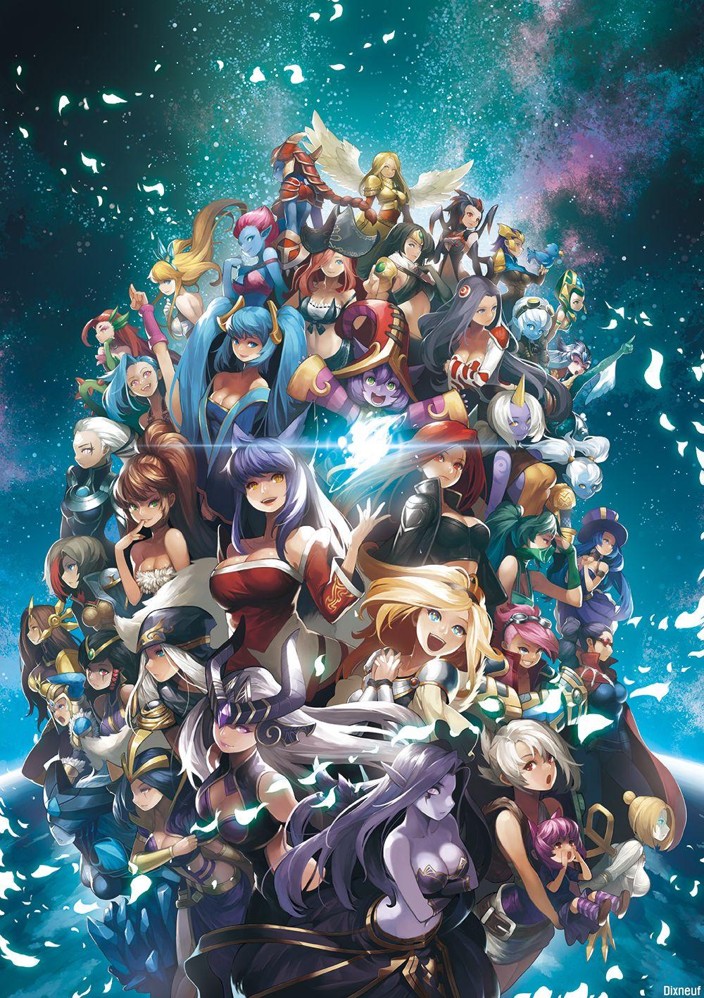 39 Women By Dixneuf Lol League Of Legends League Of